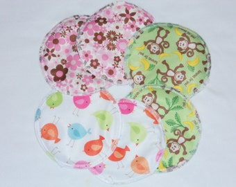 set of 3 pair- Breastfeeding Nursing Pads Leakproof Reusable/washable