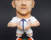 Sport Rugby Caricature sculpture of Englands Danny Care Figurine hand cast from original sculpture hand painted