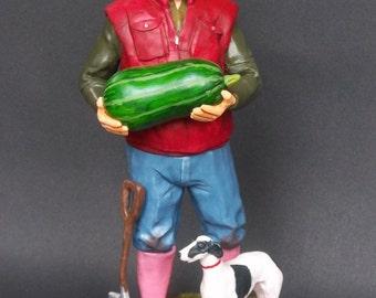 Gardening gardener customized figure