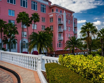 The Don Cesar Hotel in St. Pete Beach, Florida - Urban Photography Fine Art Print or Wrapped Canvas