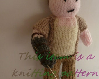 PDF knitting pattern: Merle Dixon (The Walking Dead)