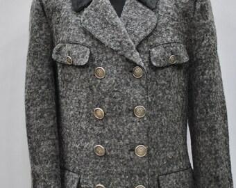 Vintage STEINBOCK Tyrol wool women coat ....(037)