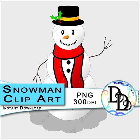 Snowman Clip Art Winter Party Decorations Christmas Scrapbooks
