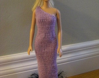 4. Lilac Evening Gown