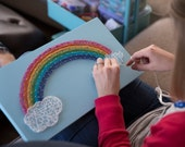 MADE TO ORDER String Art Rainbow Sign