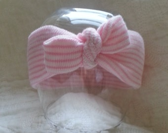 Hospital Newborn Girl Headband,  Choice of one Mini Headband,  Newborn's First Headband, newborn girl hospital bow, hospital hat