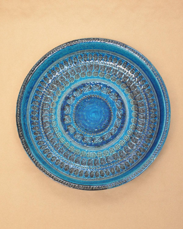 Aldo londi for bitossi xl charger rimini blu large bowl for Londi e gradi