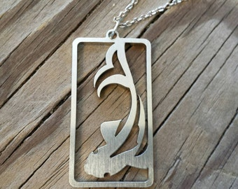 Koi charm necklace