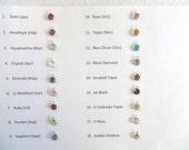 Add A Crystal Personalize Extra Crystals Swarovski Crystal Drops Crystal Charms Add A Birthstone