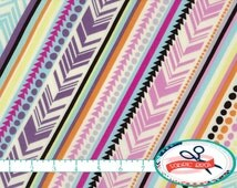 GEOMETRIC ARROW Fabric by the Yard, Fat Quarter Fabric Triangle Fabric Stripe Fabric Apparel Fabric Quilting Fabric 100% Cotton Fabric a3-30