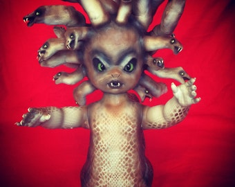 Mae Dusa is a OOAK baby art doll
