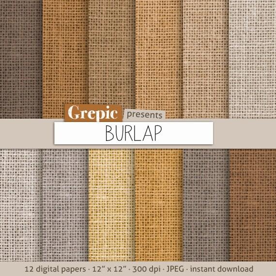 burlap paper