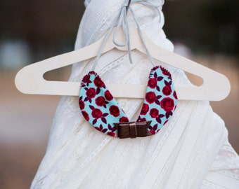 Peter Pan Collar Necklace, Floral Peter Pan Collar, Polka Dot Peter Pan Collar