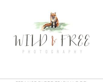Logo Design Branding, Photography Logo, Small Business Logo, Custom Logo, Logo Design Package, Affordable Logo, Fox Logo, Logo Branding