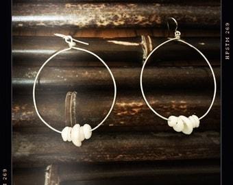 Puka Hoop Earrings