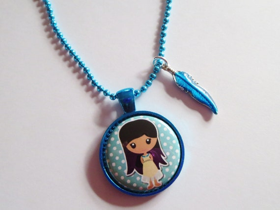 CLEARANCE Pocahontas Inspired Cameo Necklace By