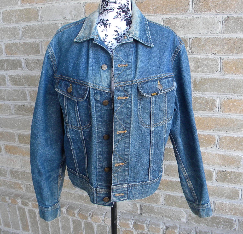 05b7b778 ... Lee Jean Jacket: 70's Vintage Lee Denim Jacket PATD-153438 / Lee Jean