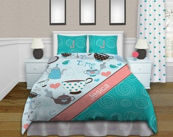 Popular Items For Teal Bedding On Etsy