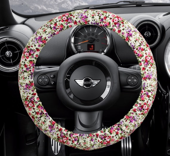 steering wheel cover bow wheel car accessories lilly by coverwheel. Black Bedroom Furniture Sets. Home Design Ideas
