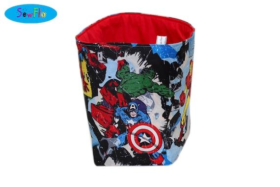Marvel Storage Bin The Avengers Bedroom Storage Basket