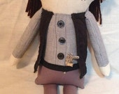 """Creepy n Cute Zombie Doll - """"Eugene"""" - Inspired by TWD (D & P)"""