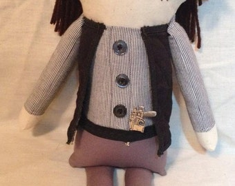 "Creepy n Cute Zombie Doll - ""Eugene"" - Inspired by TWD (D & P)"