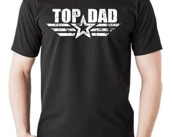 Gift For Father Top Dad T-Shirt Father's Day Gift Tee Shirt