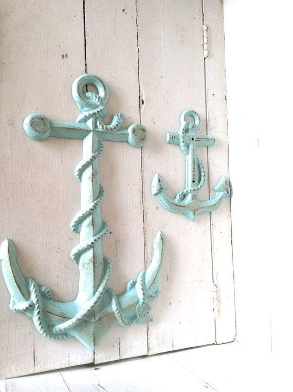 Anchor Decor Nautical Decor Anchor Wall Art Nautical