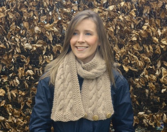 KNITTING PATTERN SET - Cairns Headband and Scarf Set (Ear Warmer and Snood/ Infinity Scarf)