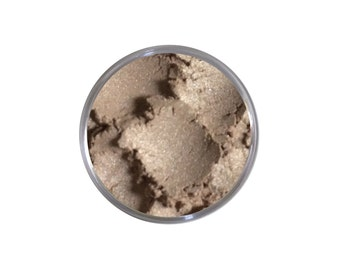 ICED LATTE ~ Vegan Pure Mineral Eyeshadow ~ All Natural Gluten Free Loose Mineral Powder