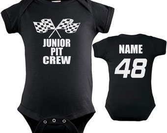 Daddy S Little Racing Buddy Personalized Name And Number