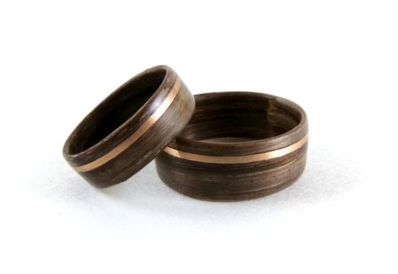 mooreiche eiche ringe eiche ringset bugholz ring set. Black Bedroom Furniture Sets. Home Design Ideas