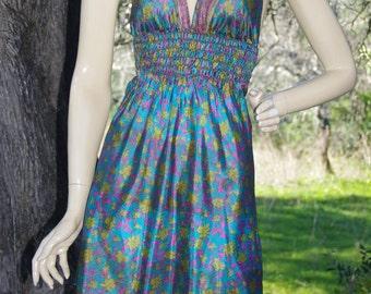 Mini Sari dress- Eco-friendly