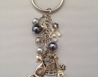 Fifty Shades of Grey Keychain 50 Shades Christian Grey Gray Key chain