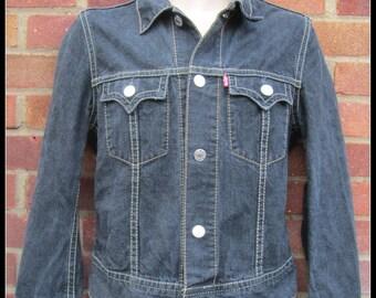LEVIS Western Style Denim Jacket - 70921 Classic - Size M