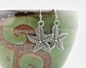 Starfish earrings - Starfish jewelry - beach jewelry - seashell earrings - seashell jewelry - beach earrings - ocean life - starfish - #20