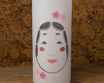 Japanese lamp - Shoji lamp - Japanese Washi - Japanese lantern - Japanese lamp