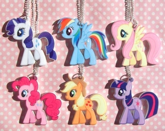 Cute My Little Pony Friendship Is Magic necklace