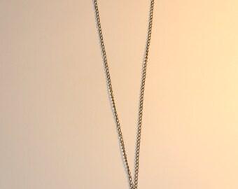 Gold Circle Locket Necklace
