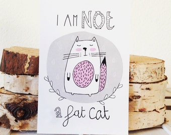 I am not a fat cat