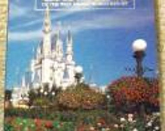 Reduced: Vintage Gardens of the WaltDisneyWorld Resort Collectible Book  FIRST EDITION by Walt Disney Company - 1988