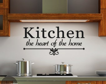 Kitchen Heart Of The Home Classy Svg Kitchen Is The Heart Of The Home Kitchen Svg Png Dfx Decorating Design