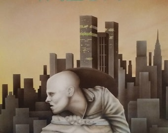 1980s Theatre Poster Denmark - Original Vintage Poster