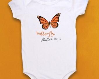 Monarch Butterfly, Cute Baby bodysuit, Unique Baby clothes, Baby Bodysuit, Kids Clothes, Little Girl Clothes, butterfly, baby girl, gift