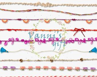 69 Line Text Divider Digital Download Scrapbooking Clip Art a39