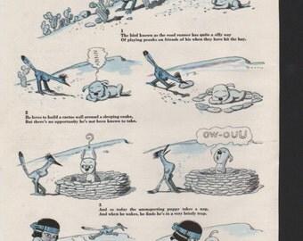 """Original Good Housekeeping cartoon """"Yoomee"""" by James Swinnerton 1930s, 8x11 in. - Kids238"""