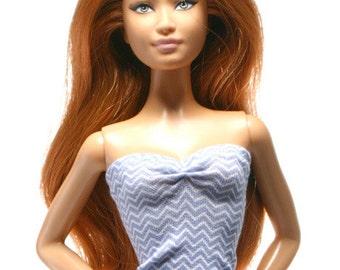 Handmade clothes for Barbie (Top): Voluno