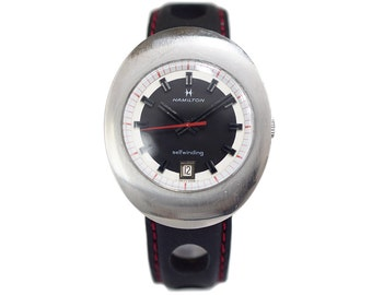 1960s Vintage Hamilton Watch with Rally Band