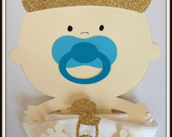 Baby boy Prince Baby  Shower Napkins