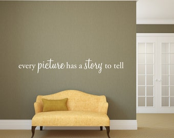 every picture has a story to tell - Home Decor - Picture Photo Collage Home Vinyl Decal -3